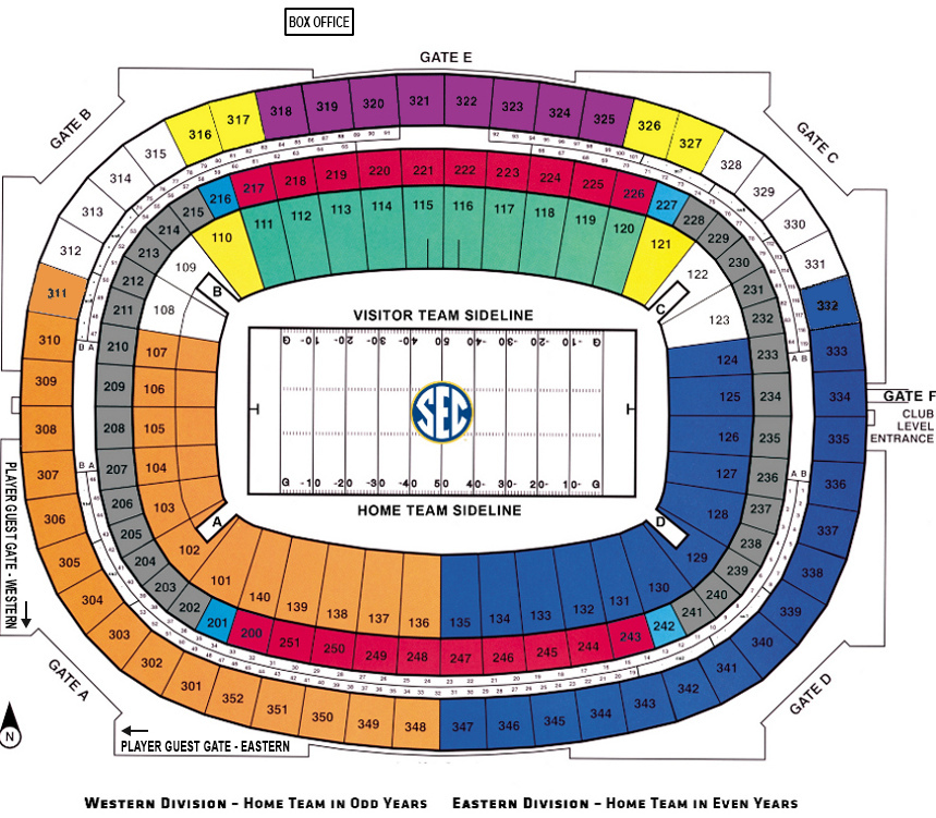 Georgia dome sec football championship game